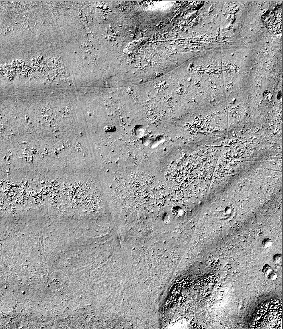 Digital Terrain Map Example