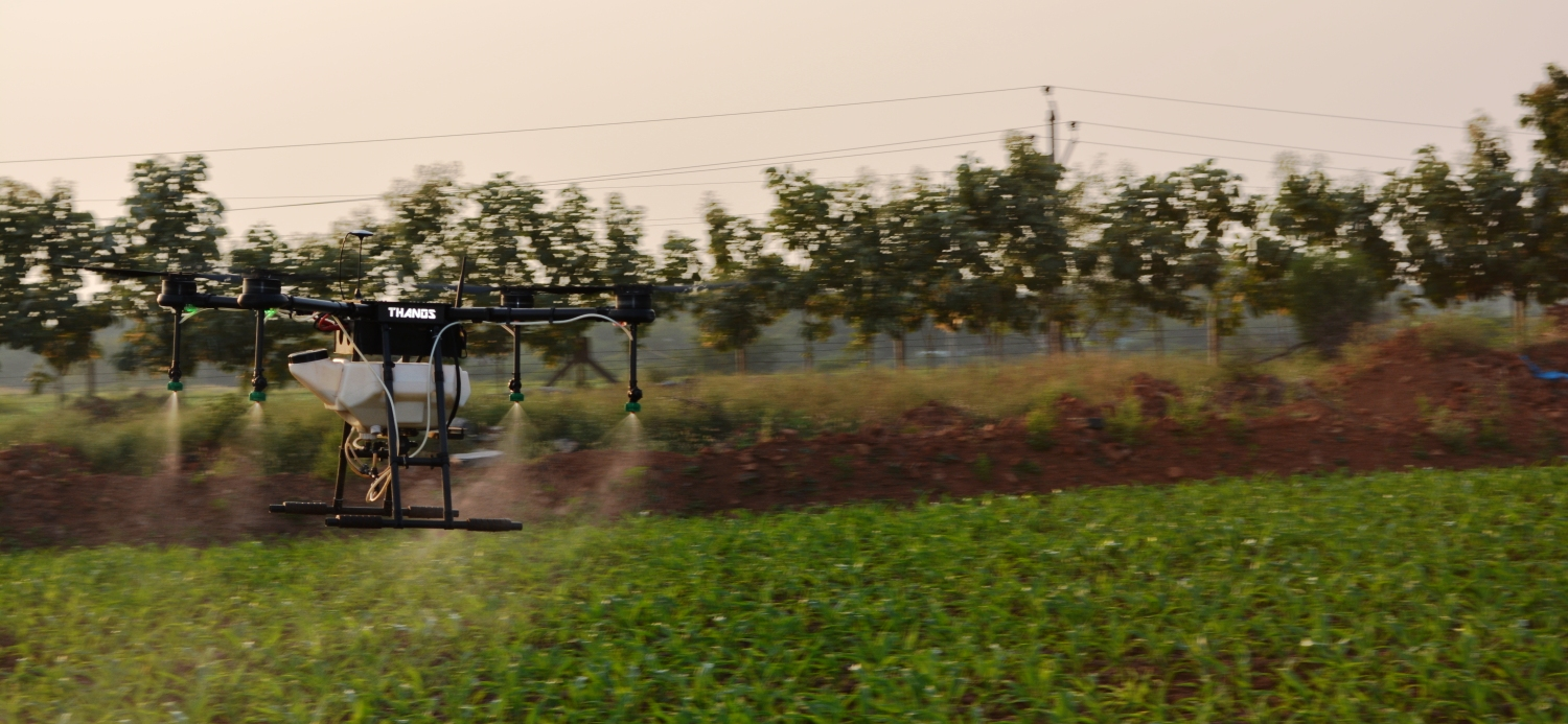 Agri Drone in Action