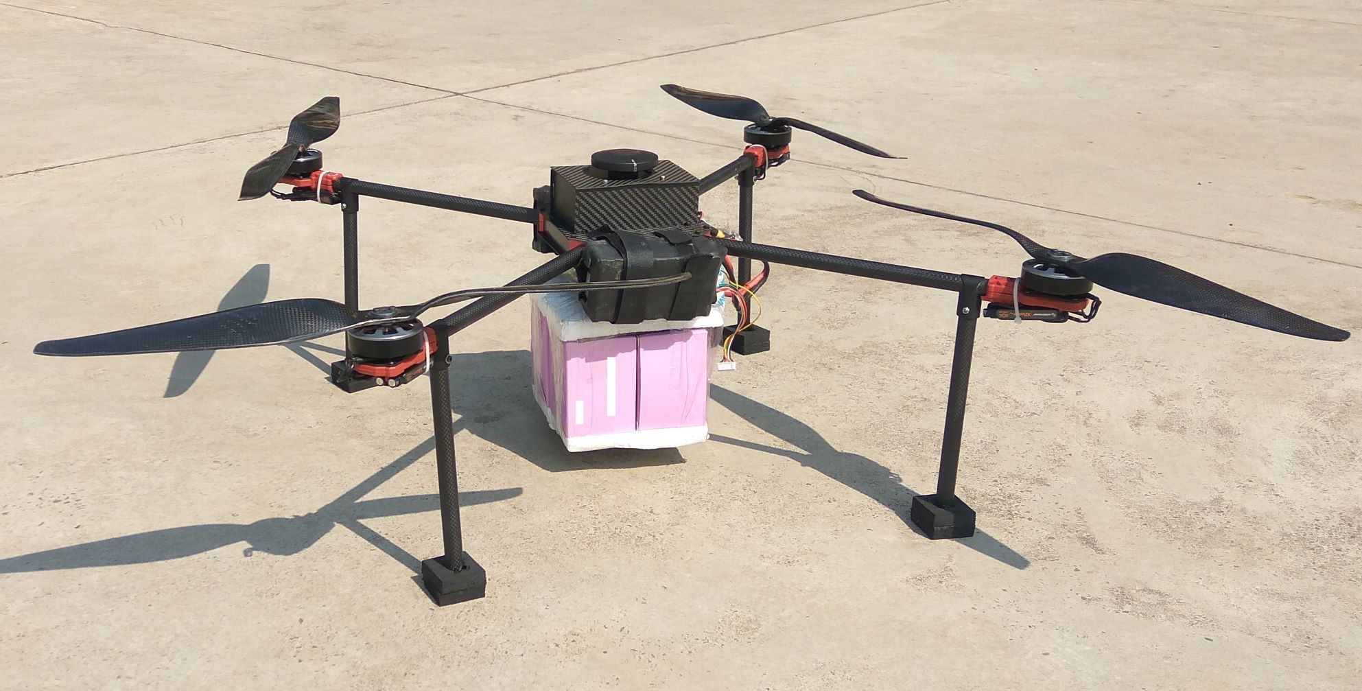 Payload Delivery Drone Prototype