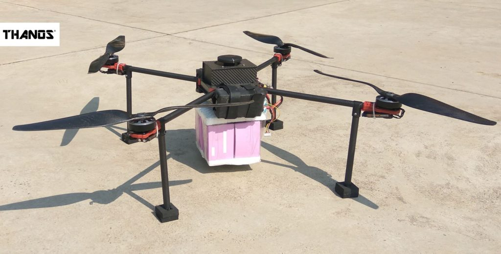 Payload Drone for COVID19